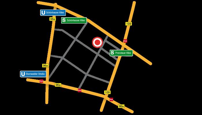 Karte bei Google Maps